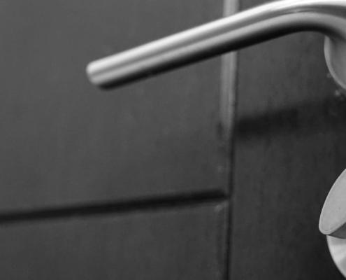 Beveiliging deurbeslag